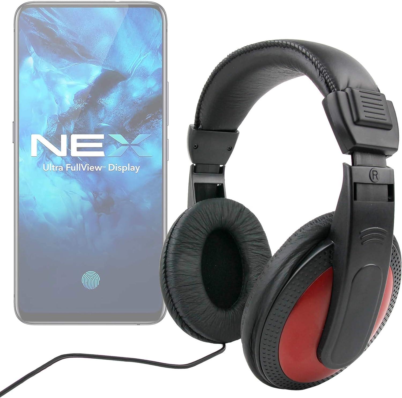 DURAGADGET Auriculares De Diadema Compatible con Smartphone Vivo ...