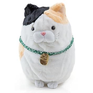 Yen faros Peluche – Grumpy Cat gris con suave y Zambaiti gato de verdad – Kleine