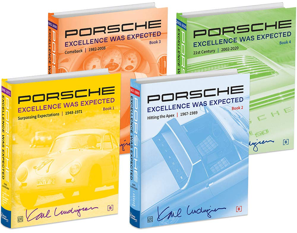 Porsche: Excellence Was Expected, 4 Volume Set, 2019 Edition by Bentley Publishers