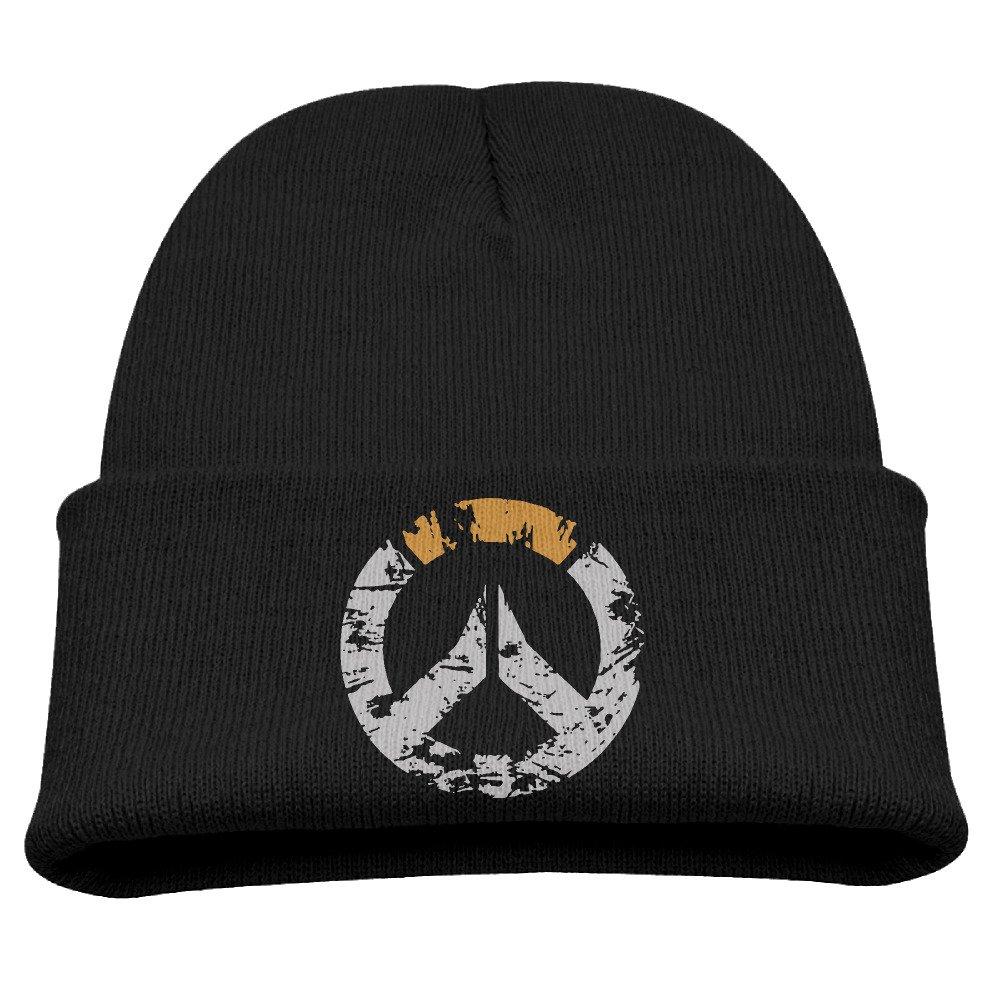 CieMoAs Overwatch Game Unisex Skull Hat Beanies Cap Black