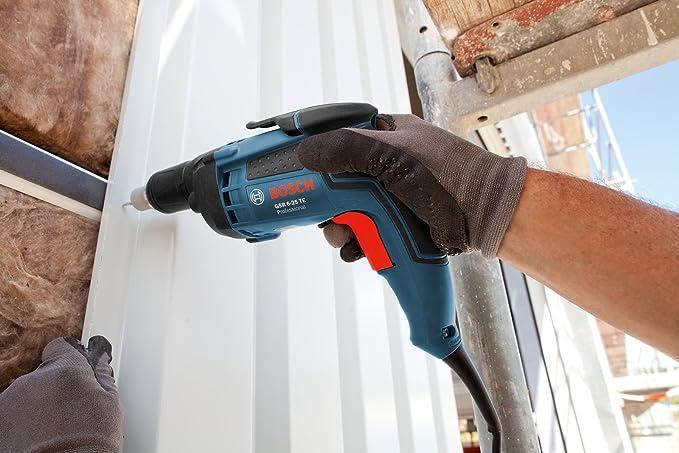 Bosch Professional GSR 6-25 TE Atornillador de placa, 701 W, 2500 rpm, 20 Nm, tope de profundidad, en maletín: Amazon.es: Bricolaje y herramientas