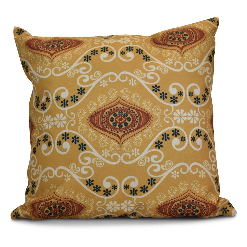 Stripe Pillow Beige//Taupe E by design PSN412TA9-26 26 x 26 Key