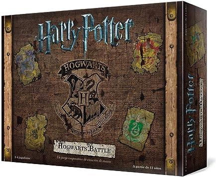 Usaopoly- Harry Potter Hogwarts Battle - Español, Multicolor, Talla ...