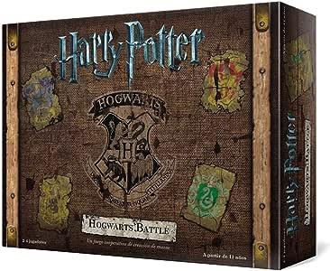Usaopoly- Harry Potter Hogwarts Battle - Español, Multicolor, Talla Única (USHB01ES): Amazon.es: Juguetes y juegos