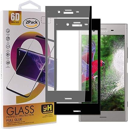 Guran [2 Paquete Protector de Pantalla para Sony Xperia XZ1 ...