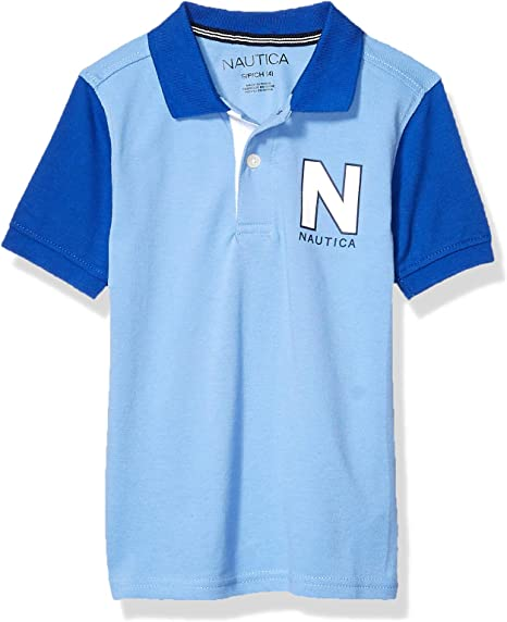 Nautica Boys Little Colorblock Polo: Amazon.es: Ropa y accesorios
