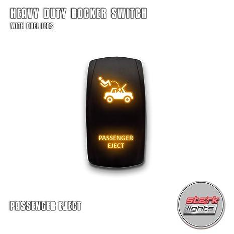 Amazon.com: Stark - Interruptor basculante LED con ...