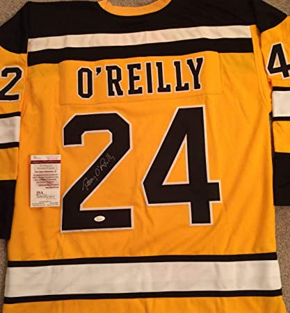 Terry O Reilly Autographed Signed Boston Bruins Yellow Home Jersey - JSA  Certified dc2e8ec59