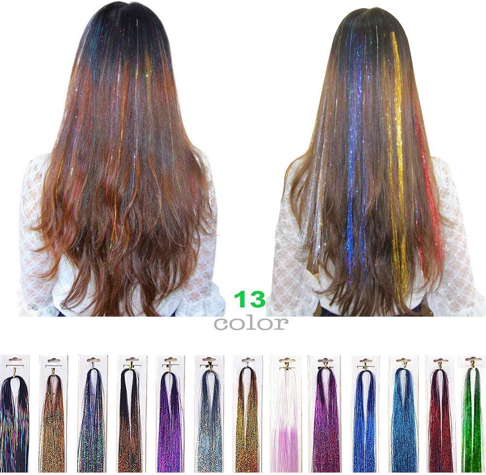 Siray - Extensiones de pelo para niñas de 40 pulgadas, 100 ...