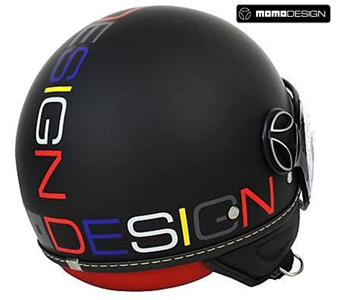CASCO MOMO MOMODESIGN Fgtr Evo SERIE LIMITED Matt Black decal Multicolor TG  M  Amazon.it  Giochi e giocattoli 6589207de7d4