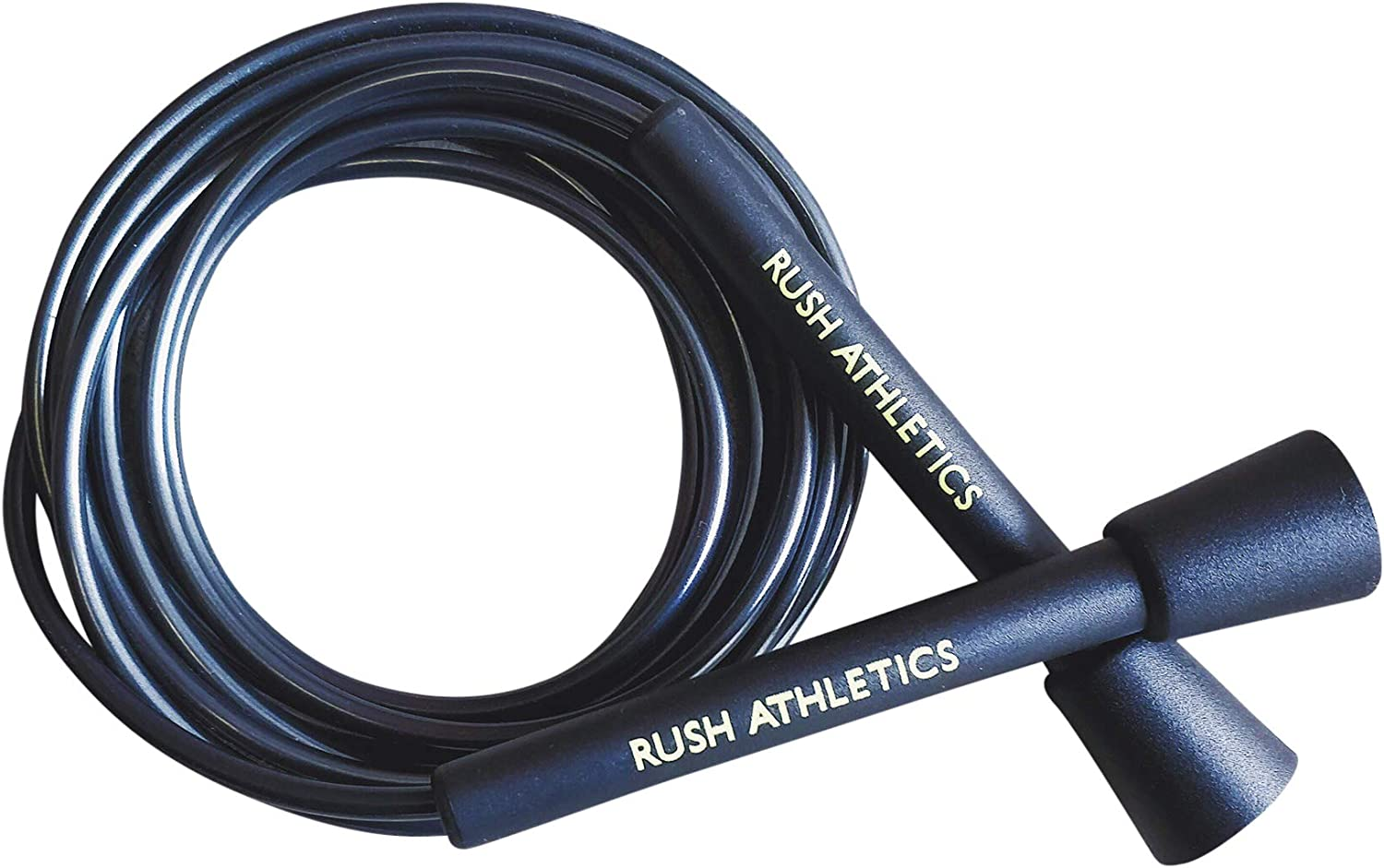 RUSH ATHLETICS Speed Rope Speed Agility Condition Best for Boxing MMA Cardio Fitness Training Adjustable 10ft Jump Rope Sold