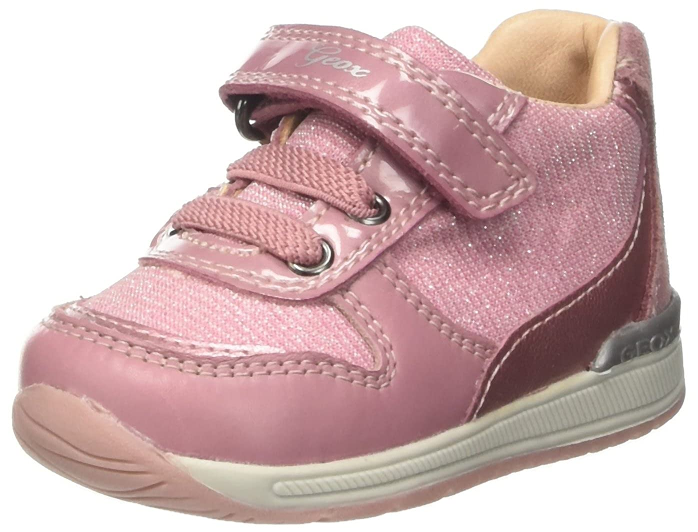 Geox B Rishon A, Sneakers Basses bébé Fille