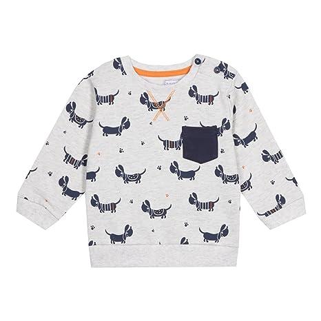 De neopreno corto para niños Bluezoo peluches de animales con lunares grises costura para blusas de
