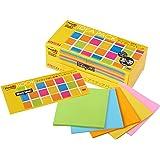 ポストイット 強粘着ノート アイディアパック 5色(各30枚)×6パッド 654-5SSAN-IP