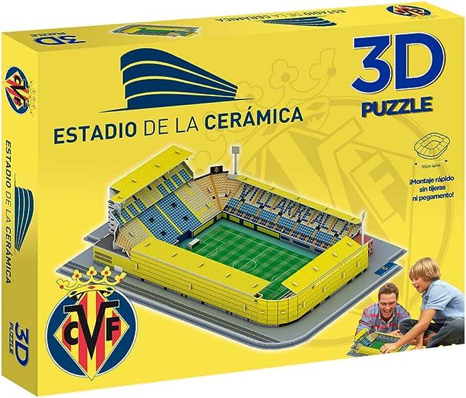Eleven Force Puzzle 3D Estadio de la Cerámica (13392): Amazon.es: Juguetes y juegos