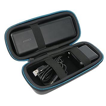 Para Anker PowerCore 20100 20000mAh Cargador Portátil Batería Externa Power Bank Maletín de transporte Funda Estuche portátil de Markstore