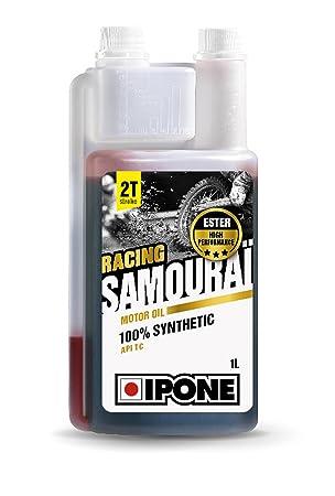 Ipone s28480 - Aceite 2T samurái 100%, síntesis, Bidon: Amazon.es: Coche y moto