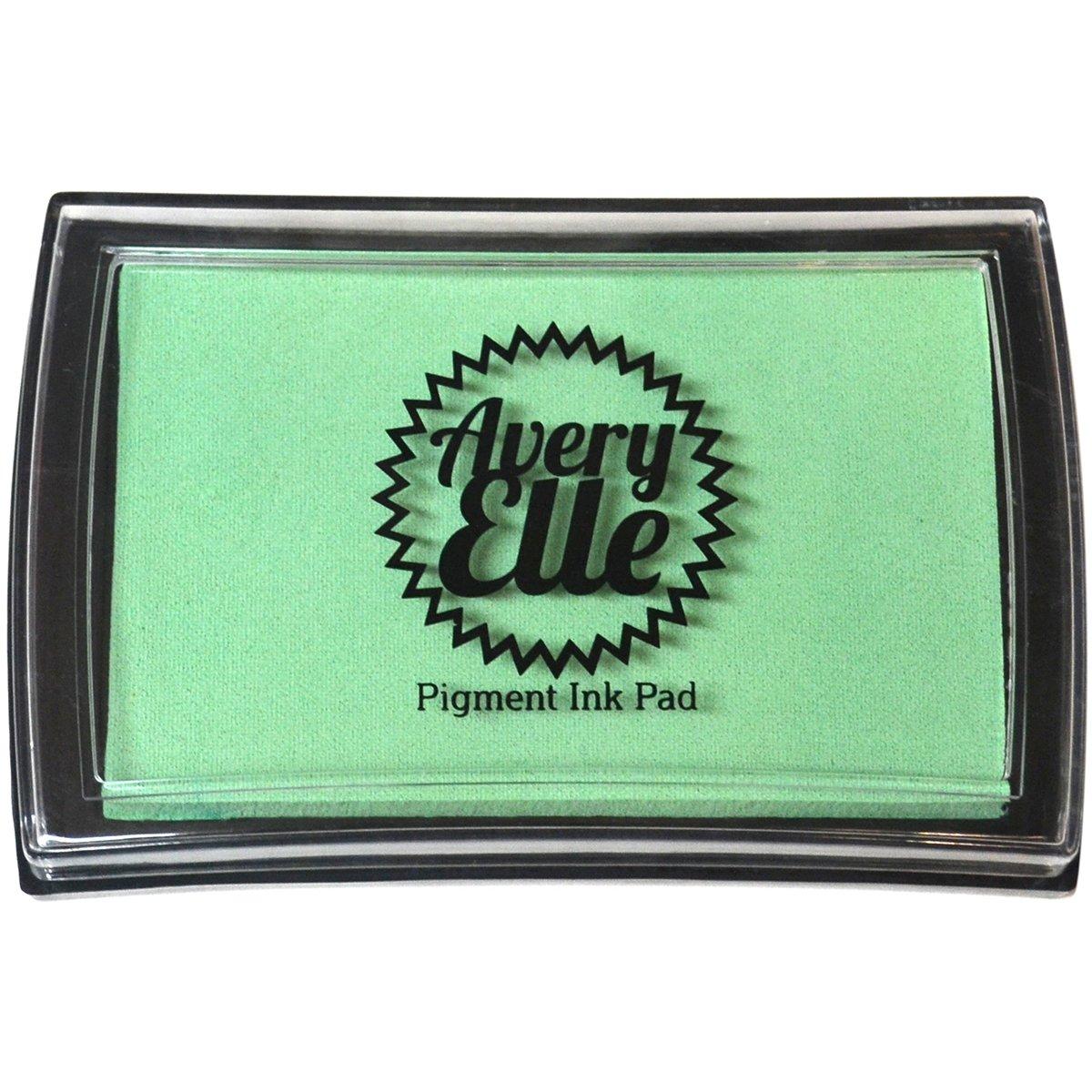 Avery Elle-Tampone inchiostro pigmentato, colore: verde menta a essere 383933