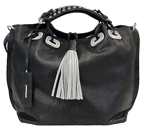 536c0ff765 Paul.hide Borsa Donna Elisabetta Vera Pelle Italiana Artigianale Made In  Italy A Tracolla A