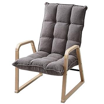 山善(YAMAZEN) 曲げ木 チェア 高座椅子 カシミヤ調 手ざわりの良いもこもこ曲げ