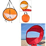 Dyna-Living Kayak Sails(Orange)+Kayak Sails(Red)