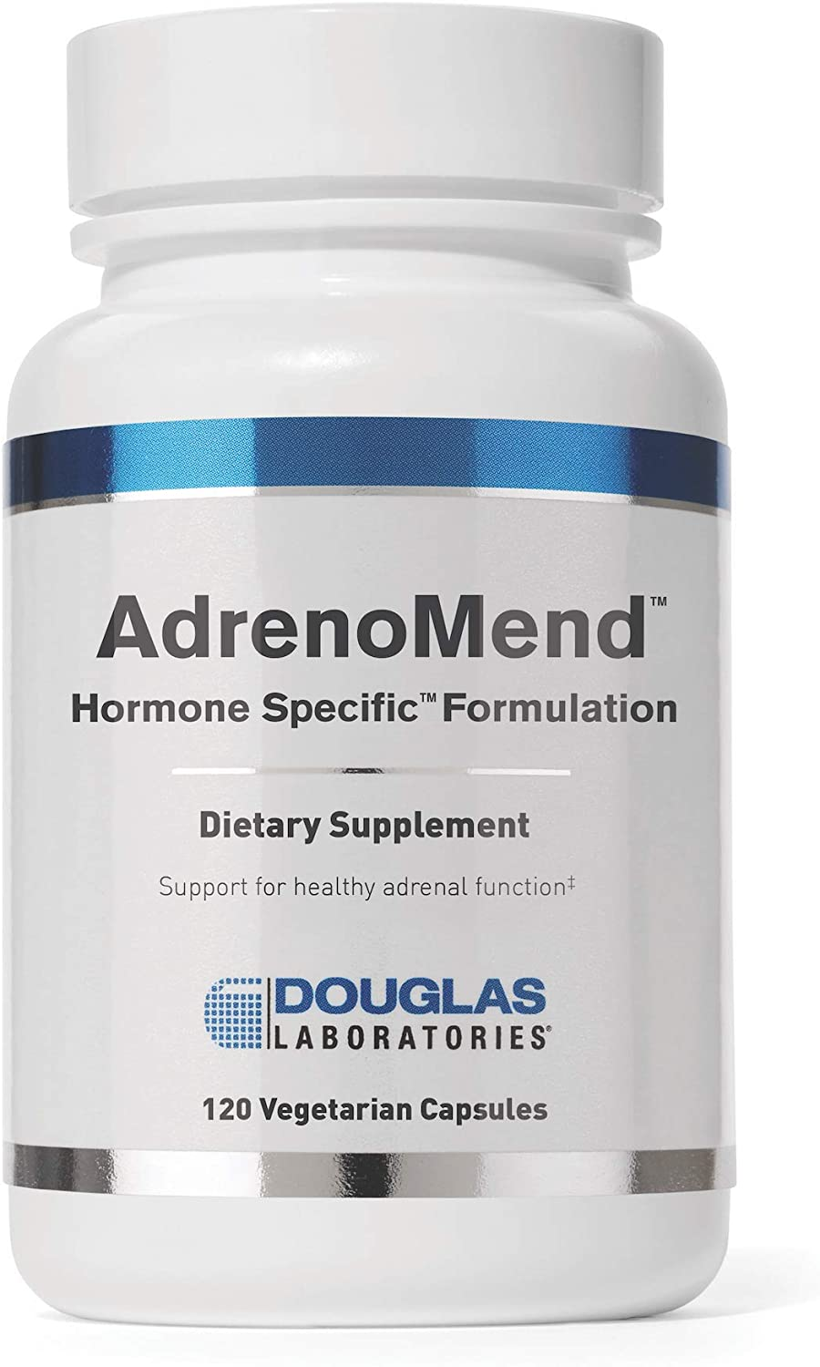 Douglas Laboratories - AdrenoMend - Ten Herbal Adaptogens to Support Adrenal Gland Function During Stress - 120 Capsules: Health & Personal Care