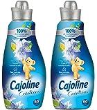 Cajoline Adoucissant Concentré Fleur Passion Bergamote 1,5l 60 lavages - Lot de 2