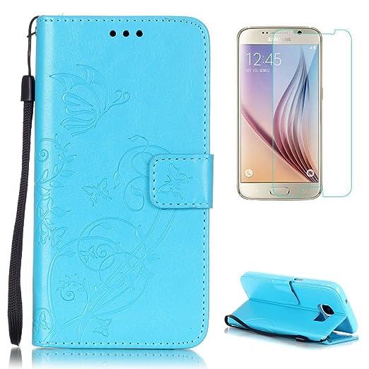13 opinioni per CaseHome Samsung Galaxy S7 Edge Custodia in pelle PU (con Gratuito Proteggi