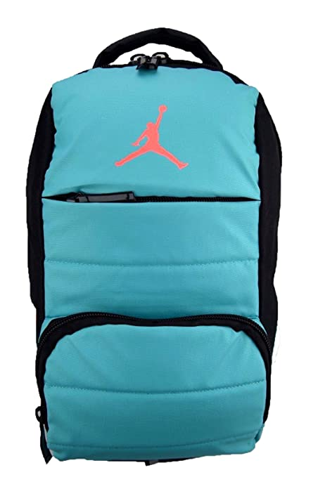 1b5633356f04 Amazon.com  NIKE Air Jordan All World Gym Jumpman Backpack School Bag Light  Retro   Hot Lava  Sports   Outdoors