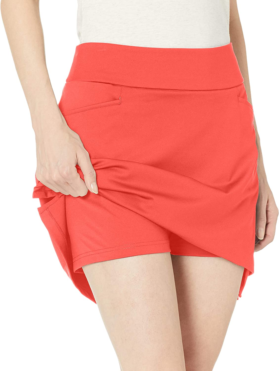 adidas Solid Knit Skort - Jupe-Short - Femme Rouge Flash.