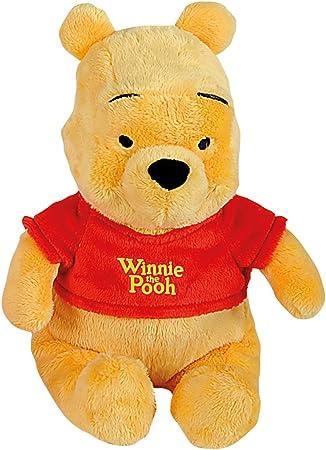 Cuenta con una altura de 25 cm,Fabricado de felpa,La peluche lleva una camiseta roja,Adecuado para e