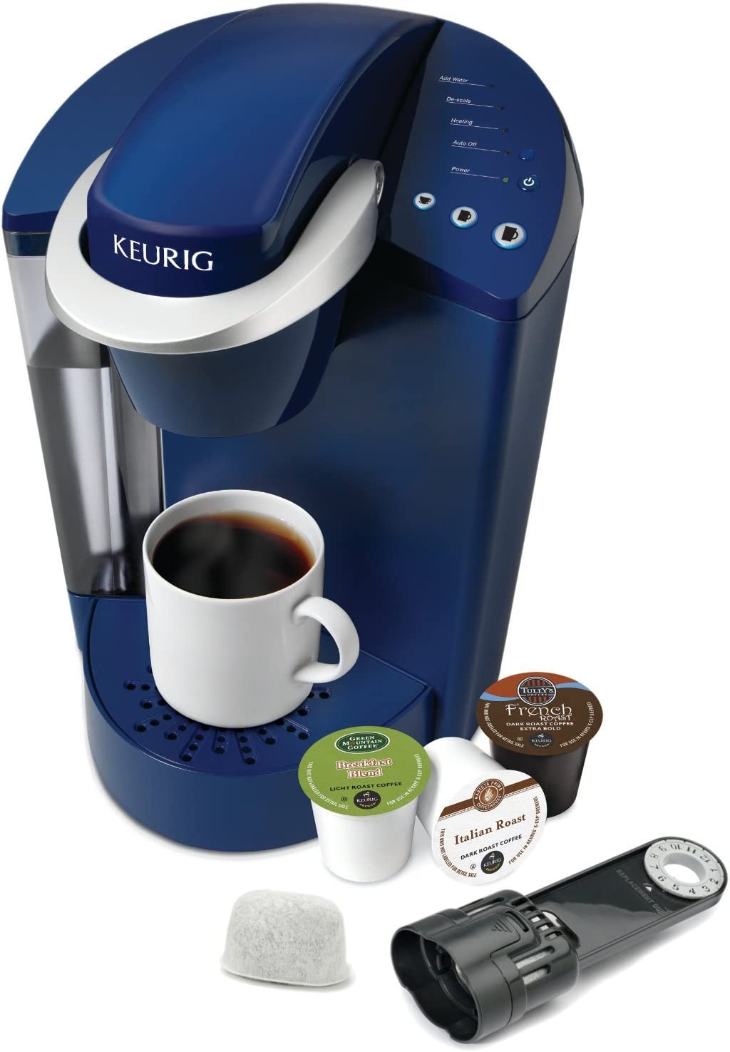Amazon.com: Keurig K45 Elite Cafetera, Azul patriot: Kitchen ...
