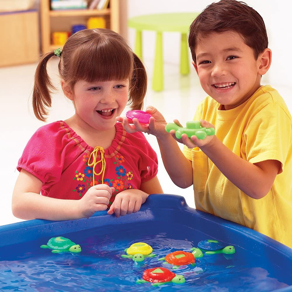 Learning Resources Shape Shell Turtles Set of 8