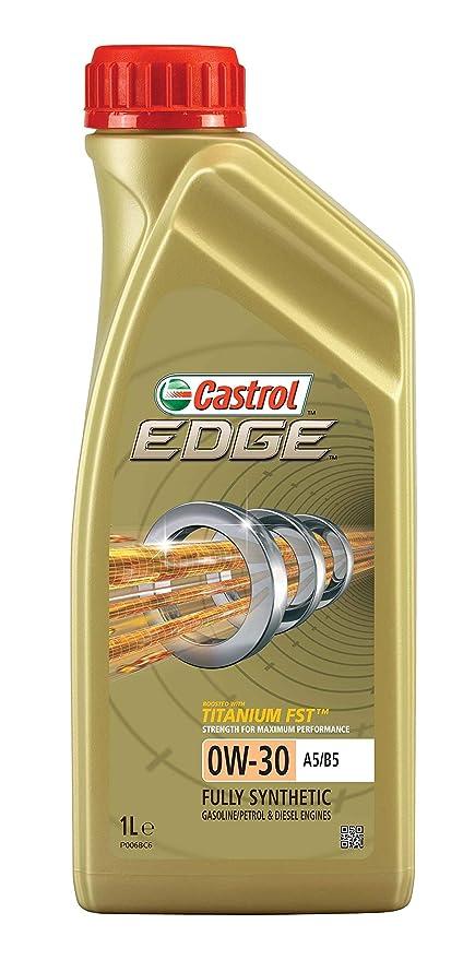 Castrol EDGE Aceite de Motores 0W-30 A5/B5 1L (Sello inglés)