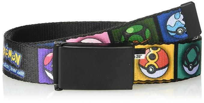 e2b77d0438 Amazon.com: Buckle-Down Big Web Belt Pokemon