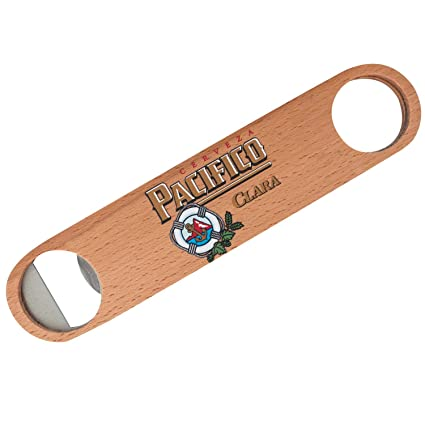 Amazon com: Pacifico Wooden Bar Speed Bottle Opener: Kitchen & Dining