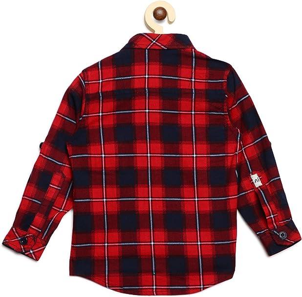 AJ DEZINES Camisa a cuadros para niños: Amazon.es: Ropa y ...
