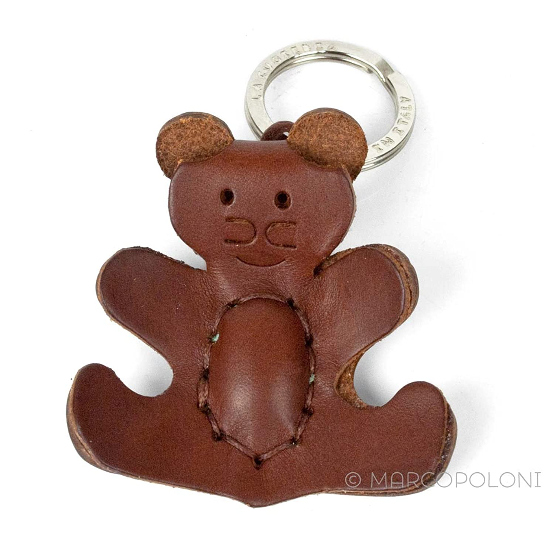 ORSETTO - Bear Italian Leather Key Chain