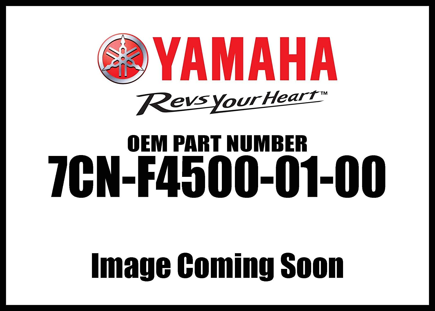 Yamaha Fuel Cock Assembly 1 7Cn-F4500-01-00 New Oem