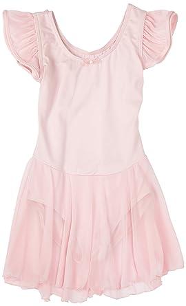 bda344202ea Amazon.com  Capezio Little Girls  Flutter-Sleeve Dress Leotard