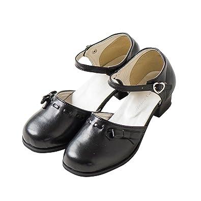 8e2be1619d8ea (キャサリンコテージ) Catherine Cottage子供服 TMS001 廉価版 リボンフォーマルシューズ 18cm ブラック