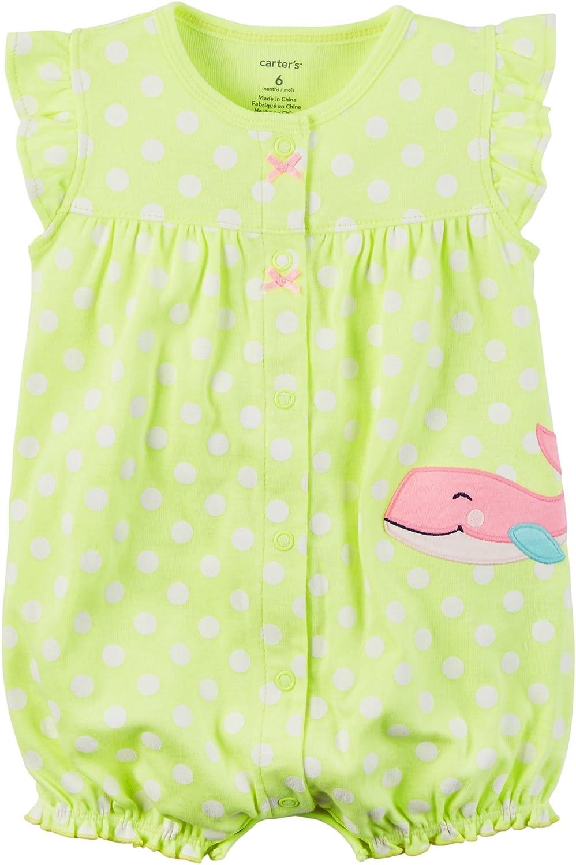 国産品 Carter 'sベビー女の子ピンク点線Seahorseロンパース B01N5HTXAG 3M グリーン 3M|グリーン 3M グリーン 3M|グリーン, sanada:465a6a8c --- irlandskayaliteratura.org