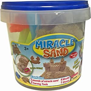 Miracle Sand Fun - 2 pounds - Seaside Moulds