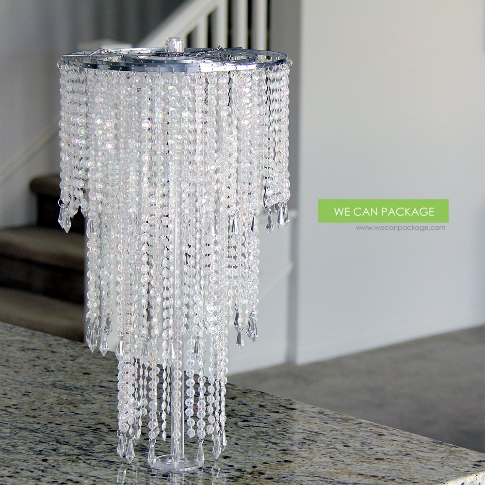 Amazon We Can Package 20 Wedding Sparkle Beaded Chandeliers