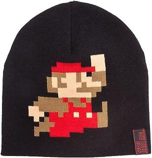 Nintendo chaude CASQUETTE SUPER MARIO BROS pixelisées DE COURSE MARIO Bonnet  Noir 83c9f516a0c