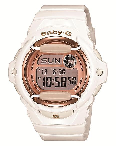 Casio Baby-G Rosa x oro serie bg-169g-7jf Ladies Reloj Japón Importación: Amazon.es: Relojes
