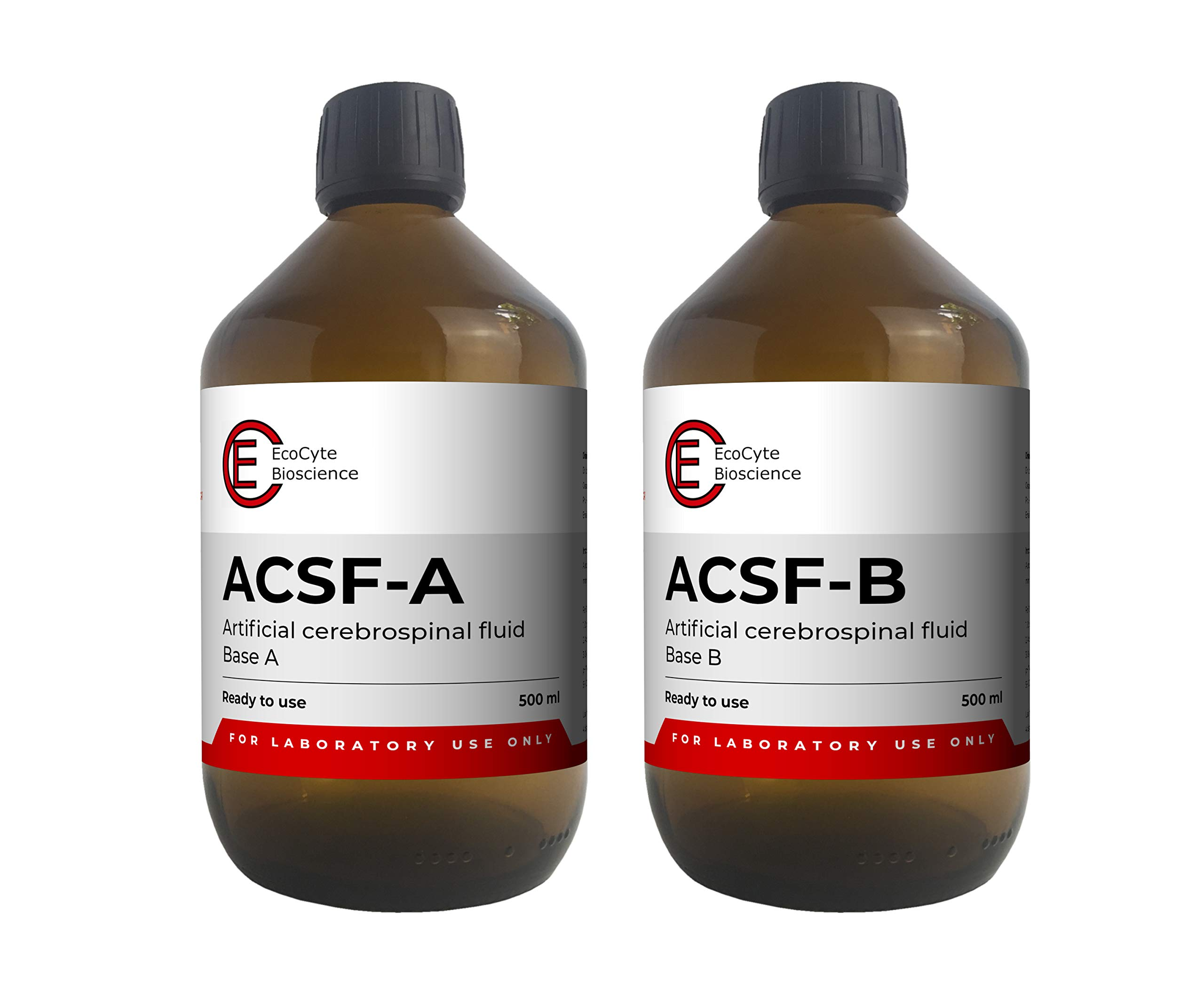 ACSF - Artificial Cerebrospinal Fluid (1000 ml) Ready to Use for Electrophysiology