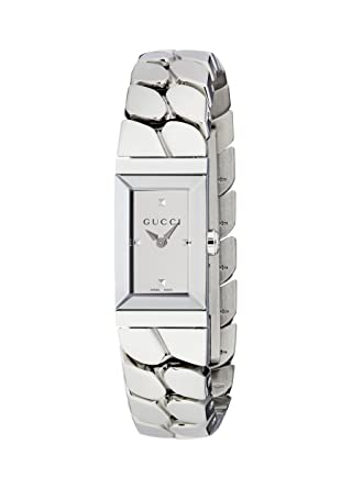 4f3bd82cf Amazon.com: GUCCI LADIES' G-FRAME WATCH YA147501: Watches