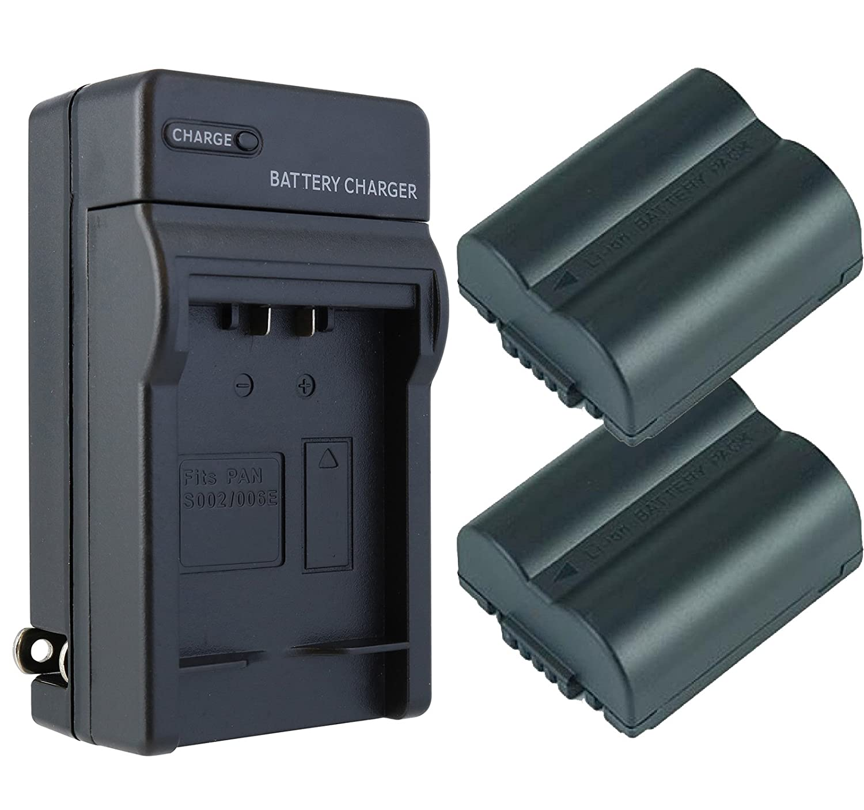 Panasonic Lumix DMC - dmc-fz30 Battery (2 - Pack) &充電器セット – 交換用for Panasonicデジタルカメラバッテリー&充電器キット B01G4P4E7E