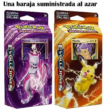 Pokemon JCC 60 Cartas XY Evoluciones-Español (1 baraja al ...